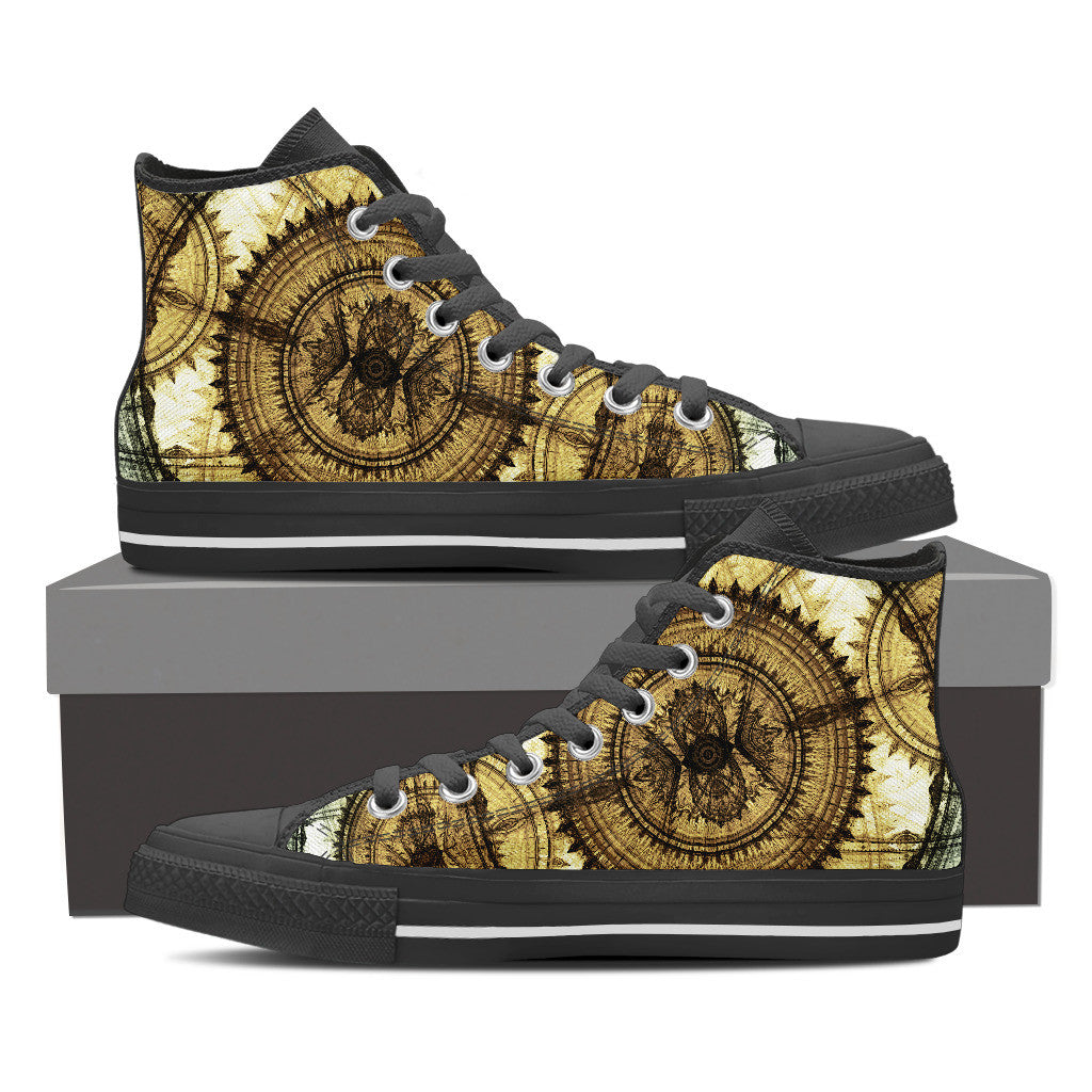 Dial Steampunk High Tops