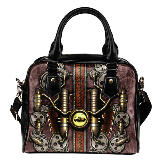 Steam Pipe Shoulder Handbag
