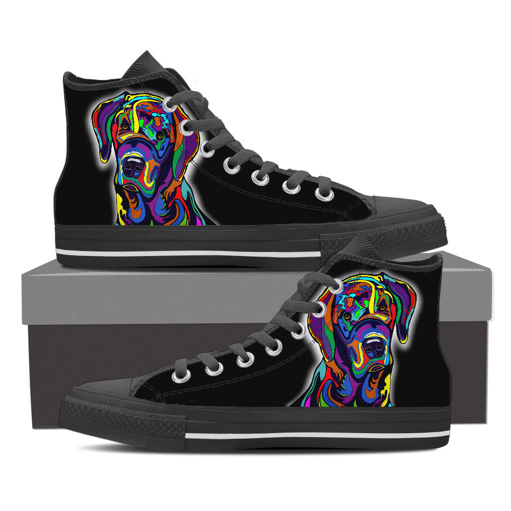 Picasso Lab Pup High Tops - Hello Moa