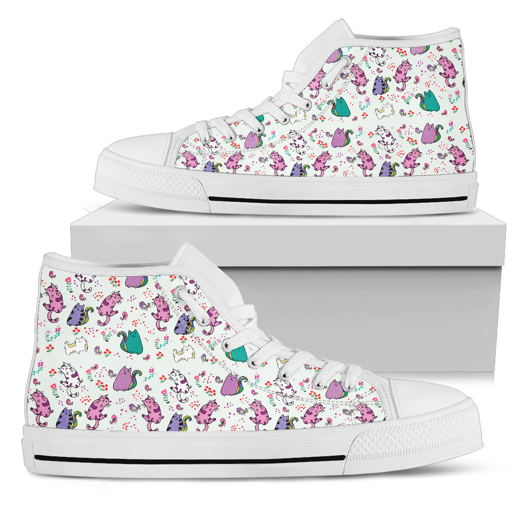 Cute Cat Canvas Shoes (Women's)