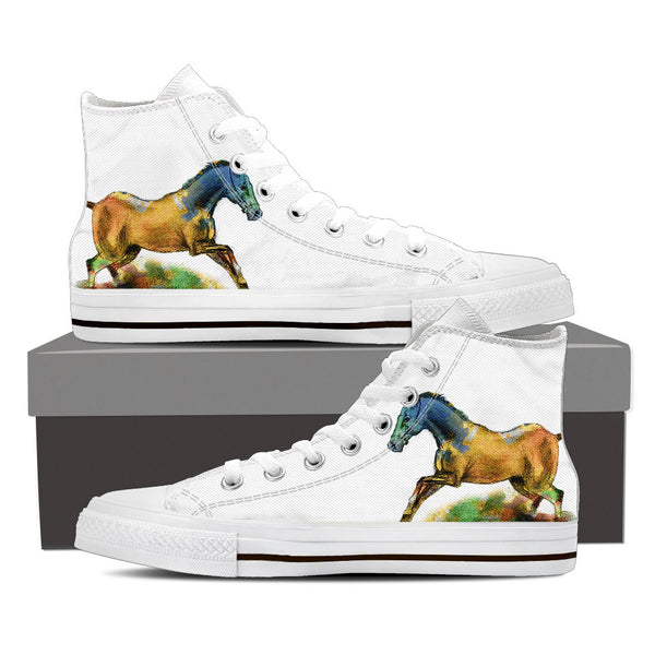 Horse Series I High Tops (Women's)