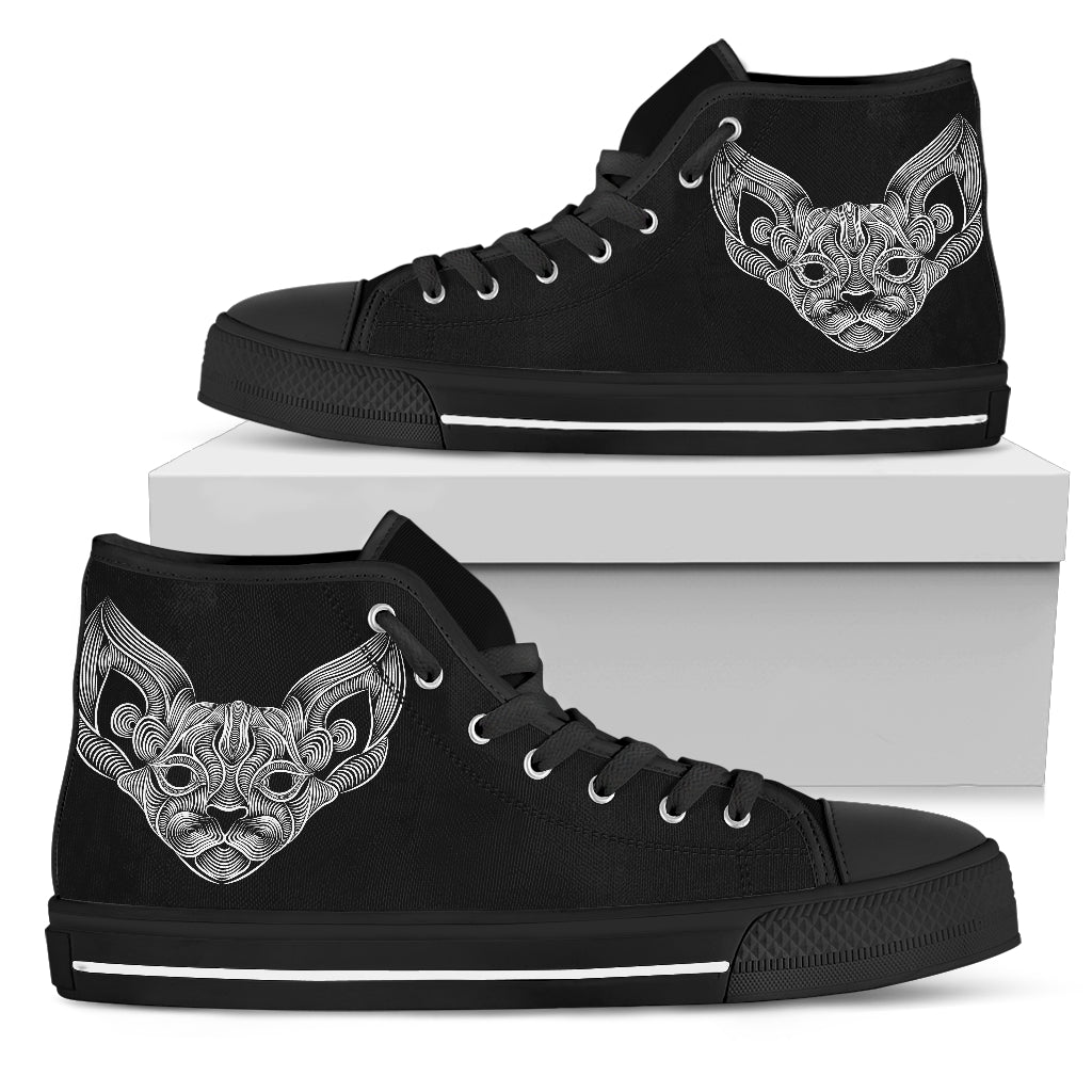 Cat Thread III Canvas Shoes
