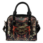 Steampunk X Shoulder Handbag - Hello Moa