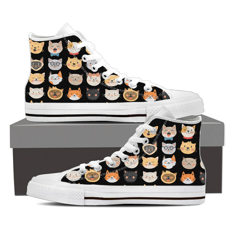Adorable Cats High Tops
