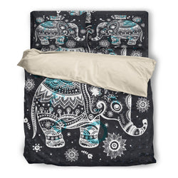 Elephant Mandala Bedding Set