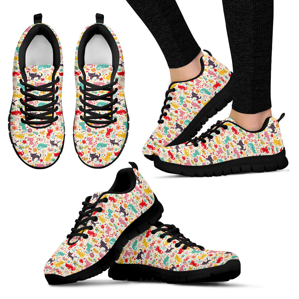 Butterfly Cat Shoes (Women's) - Hello Moa