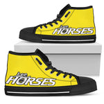 Express Love Horses Shoes Yellow (Women's) - Hello Moa