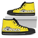 Express Love Horses Shoes Yellow (Women's)