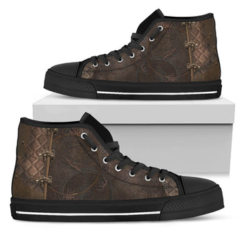 Rustic Brown High Tops (Women's)