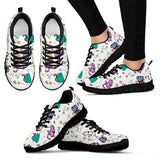 Cute Cat Sneakers (Women's)