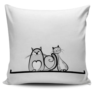 Funny Cat XVII Pillow Cover