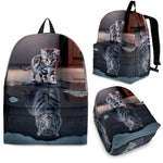Kitten Reflection Backpack - Hello Moa
