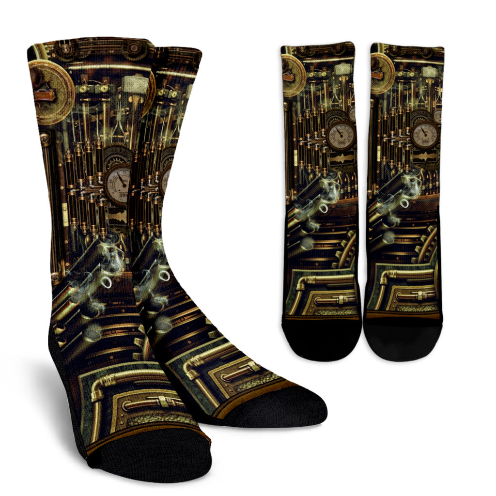 Steampunk VIII Socks - Hello Moa