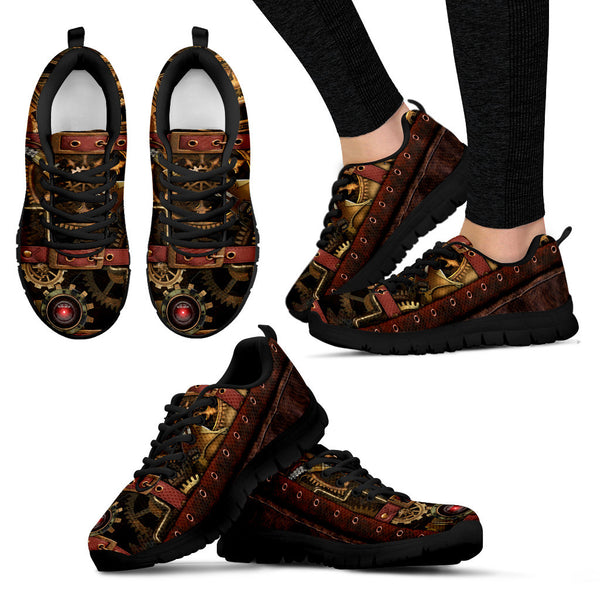 Steampunk Running Shoes
