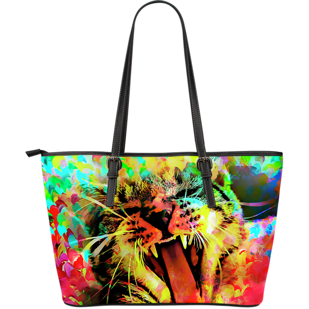 Wild Cat Leather Tote Bag