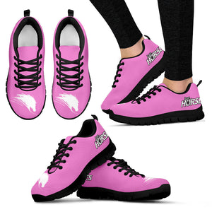 Express Love Horses Shoes Pink (Women's) - Hello Moa