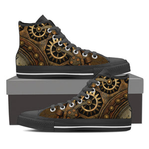 Steampunk High Tops - Hello Moa
