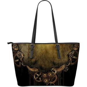 Steampunk Vintage Gear Large Tote - Hello Moa