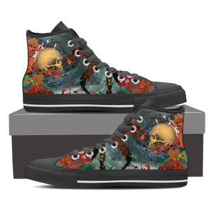 Skull Series VII High Tops - Hello Moa