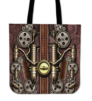 Steam Pipe Cloth Tote Bag - Hello Moa