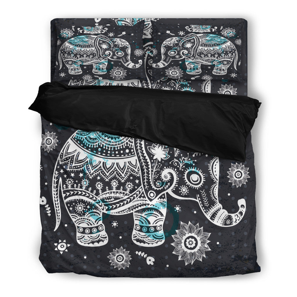 Elephant Mandala Bedding Set - Hello Moa