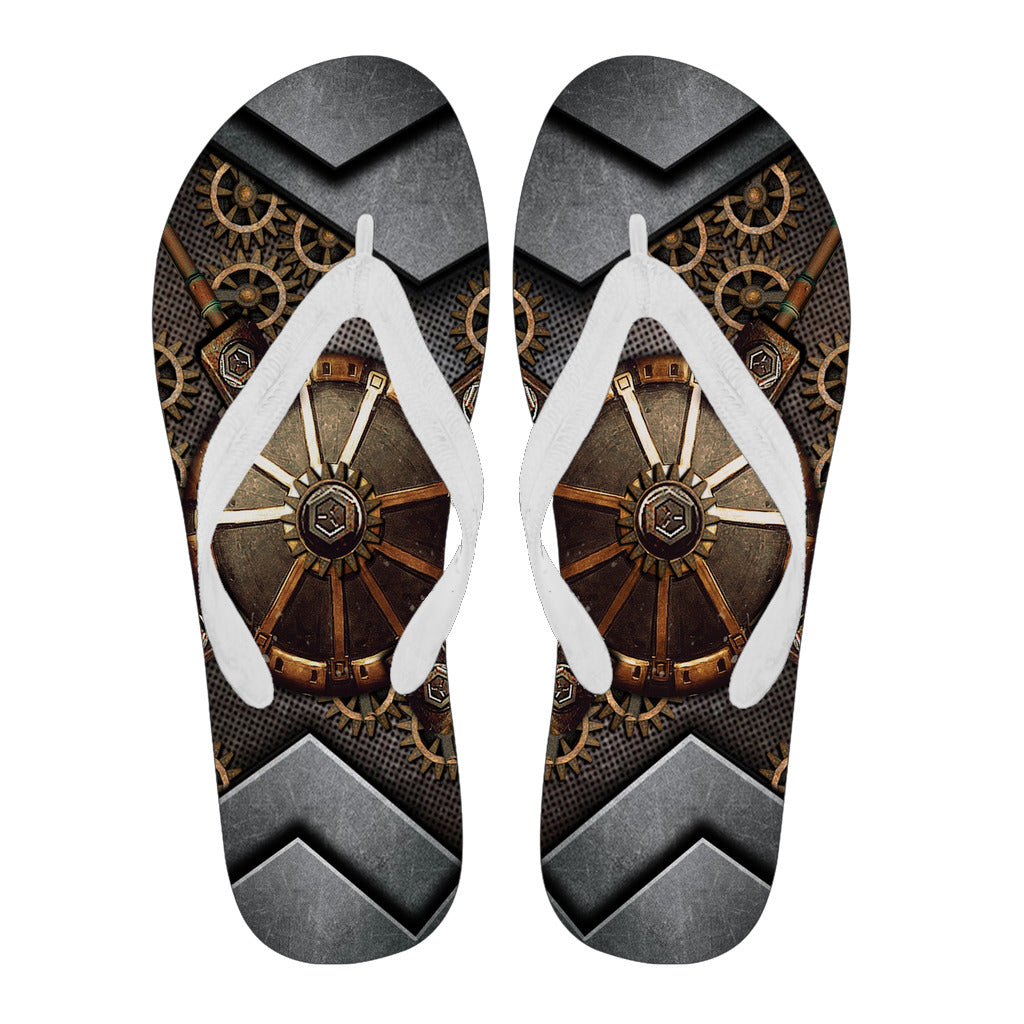 Hidden Gear Flip Flops - Hello Moa