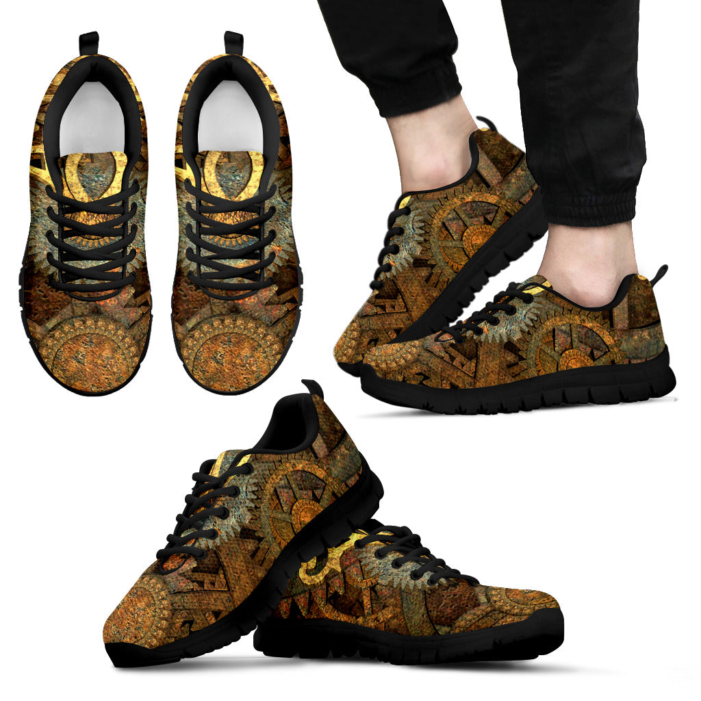 Steampunk Sundial Sneakers