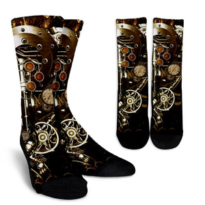 Steampunk IV & V Socks