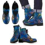 Express Blue Rust Boots (Men's) - Hello Moa