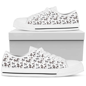Horse Pattern Shoes (Women's) - Hello Moa