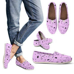 Pink Cat Shoes - Hello Moa