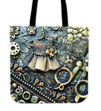 Bobbin Steampunk Cloth Tote Bag