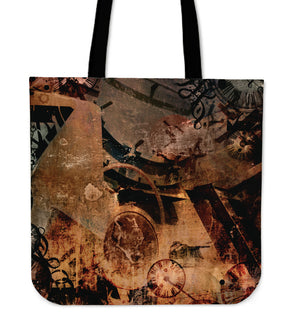 Steampunk Art Cloth Tote - Hello Moa