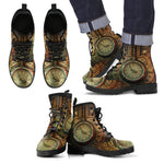 Piston Clock II Steampunk Boots