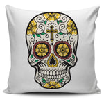 Cross Skull Pillow Cover - Hello Moa
