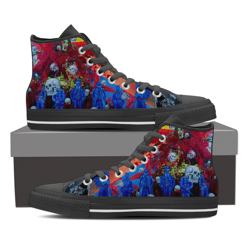 Skull Series II High Tops - Hello Moa
