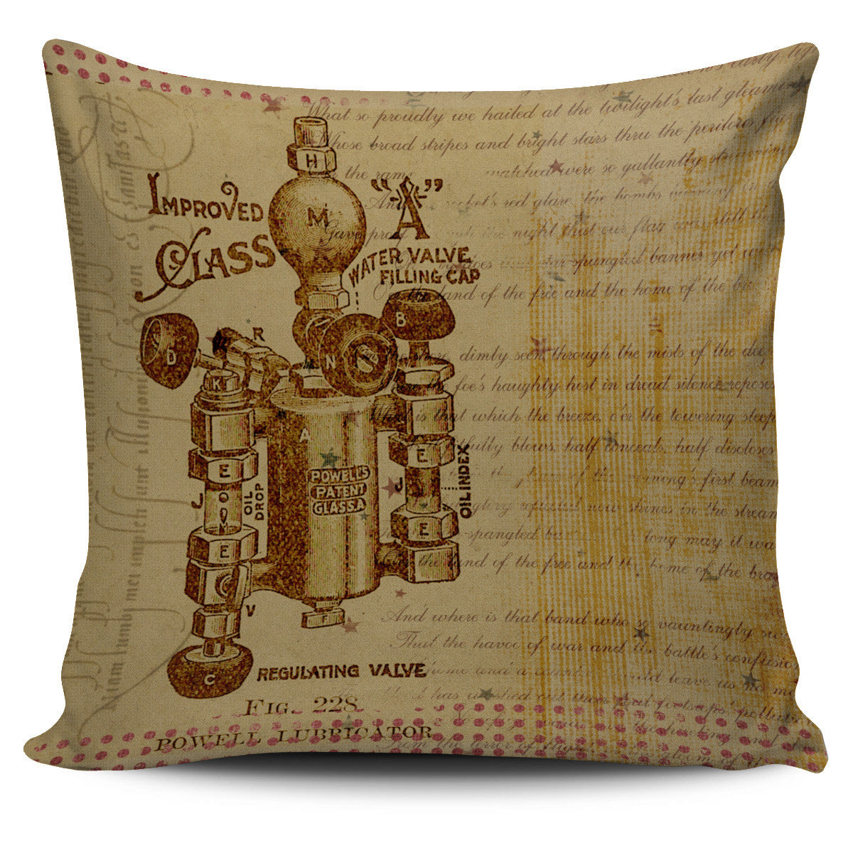 Steampunk Pillow Covers - Hello Moa