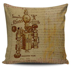 Steampunk Pillow Covers