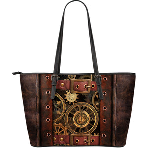 Steampunk III Leather Tote