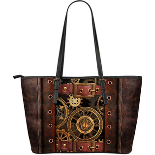 Steampunk Leather Tote Bags