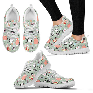 Snugly Cat Sneakers - Hello Moa