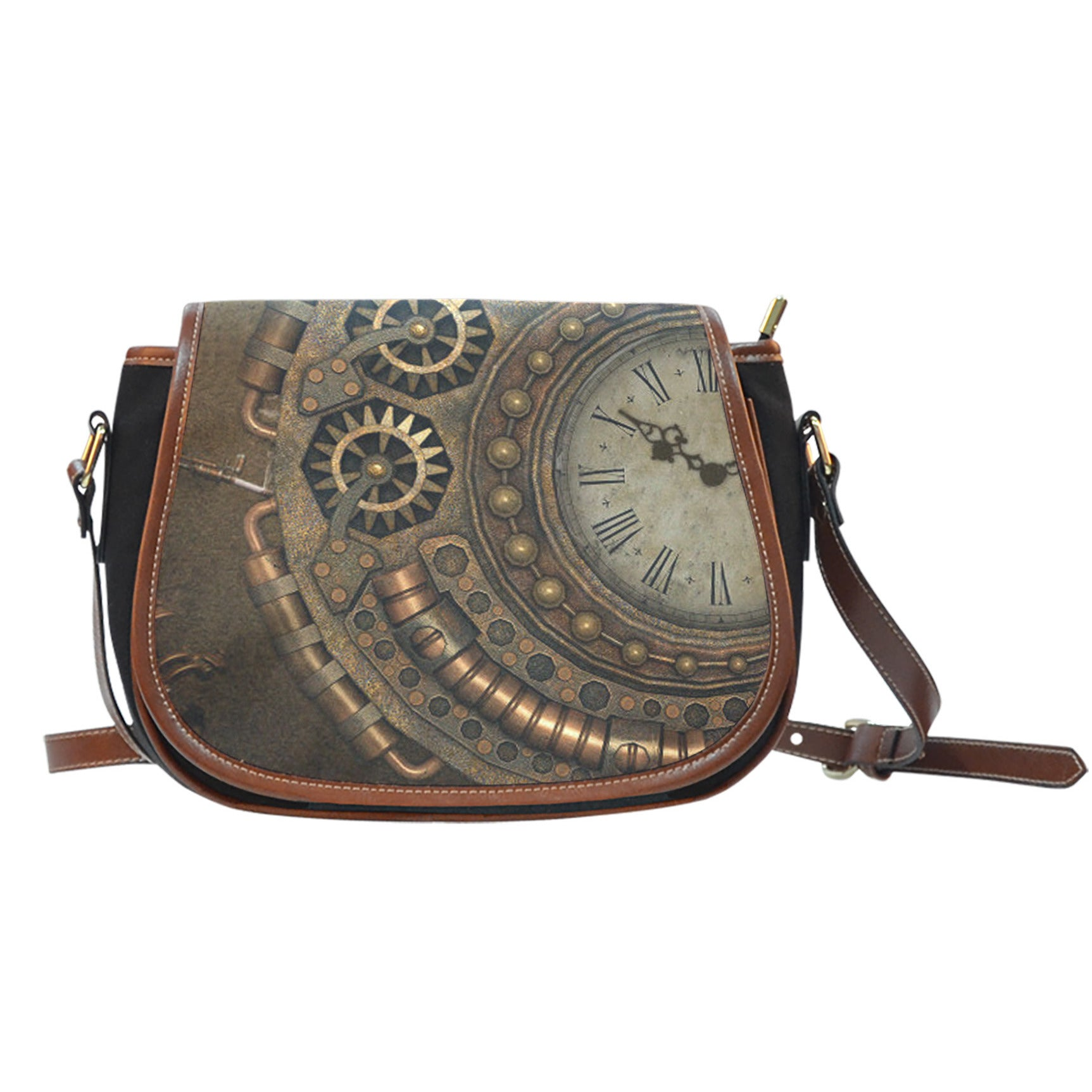 Steampunk IV Saddle Bag - Hello Moa
