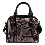 Steampunk Circuit 3 Shoulder Handbag - Hello Moa