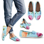 Blue Flower Casual Shoe - Hello Moa