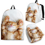 Sleeping Cat Backpack - Hello Moa
