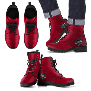 Steampunk Rose V Boots (Men's) - Hello Moa