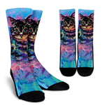 Artistic Cat Socks - Hello Moa