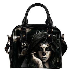 Hidden Skull Shoulder Handbag - Hello Moa