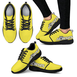 Love Horses Shoes Yellow (Women's) - Hello Moa