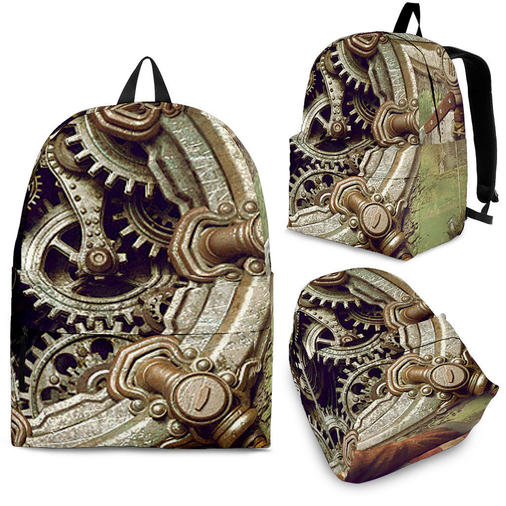 Steampunk Gears Backpack